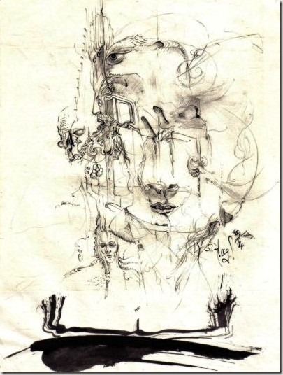 pfade-drawing-by-arkis-1984