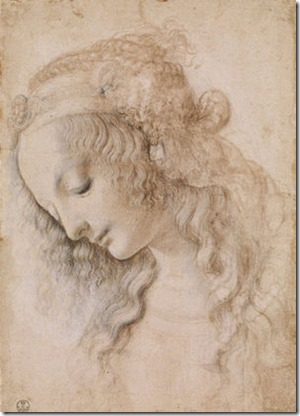 Leonardo_da_Vinci-_Head_of_a_Woman___c.1470-76