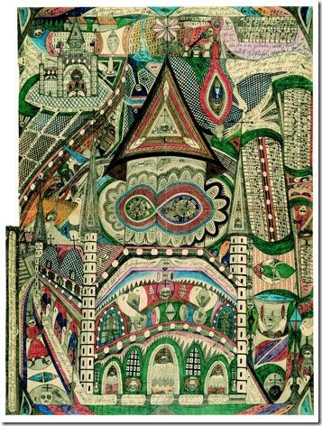 Adolf_Wölfli_Die_Skt-Wandanna-Kathedrale_in_Band-Wand