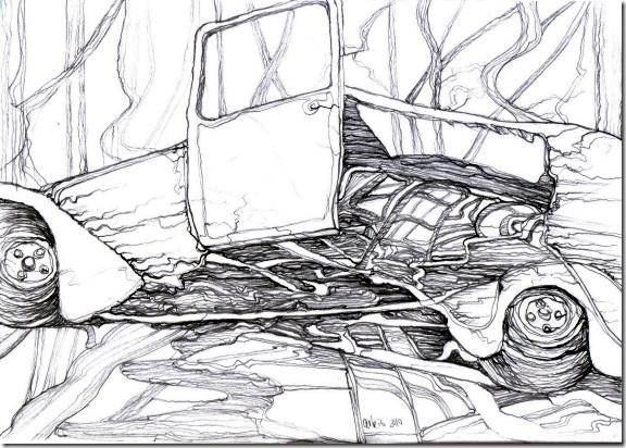 autofriedhof-drawing-by-arkis