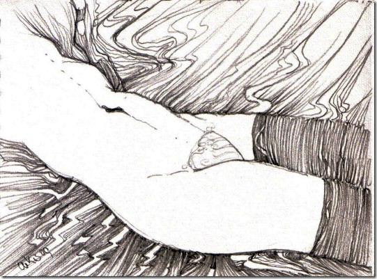 die-struempfe-drawing-by-arkis