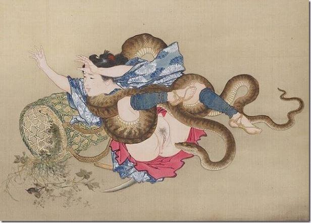 japanisch-girl-and-snake