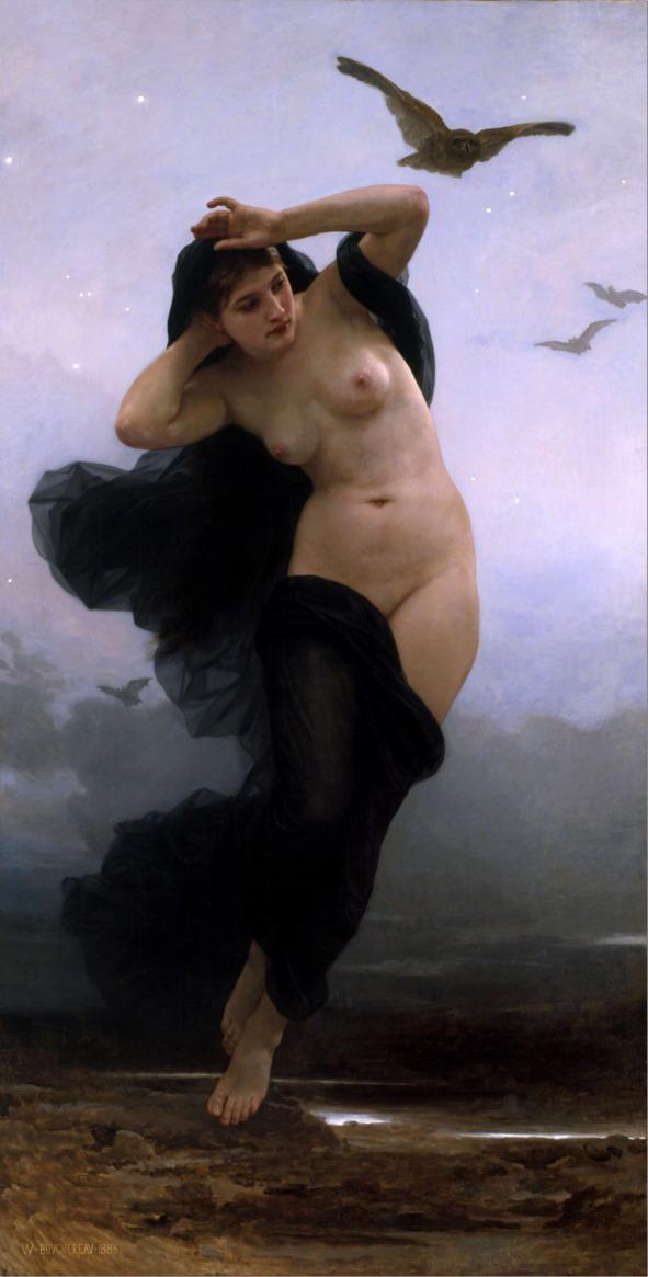 william-adolphe_bouguereau-(1825-1905)-la_nuit