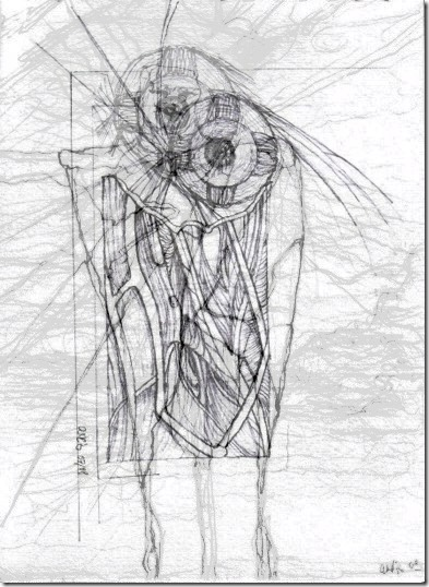 cyborgs-großer-bruder-drawing-mixed-pcgrafik-by-arkis-2020