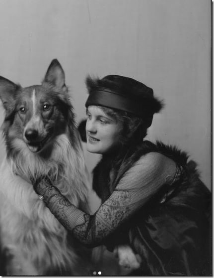 miss-norma-phlips-with-dog-1914